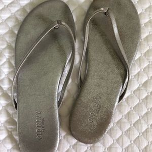 Old navy silver sandals
